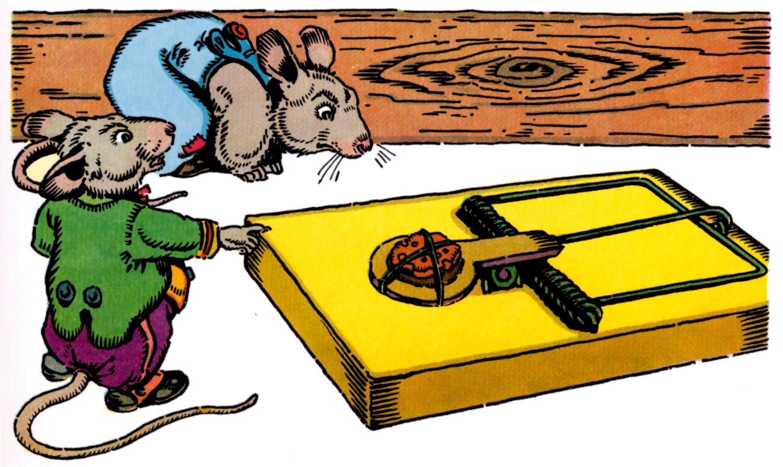 Mouse clipart mouse trap #2