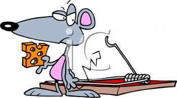 Mouse clipart mouse trap #7