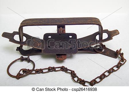 Trap clipart antique animal Leghold Trap Antique Stock Photos