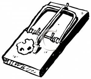 Mouse clipart mouse trap #4