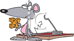 Trapped clipart mouse trap Holding Mouse In Cheese a