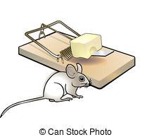 Mouse clipart mouse trap #1