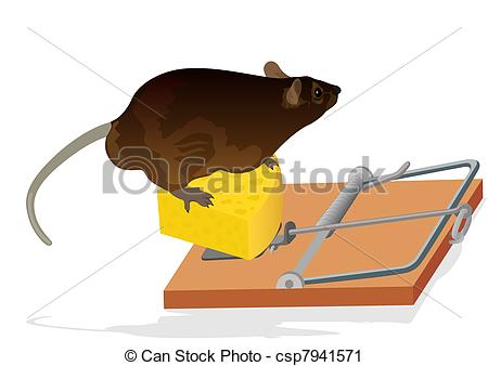 Trapped clipart mouse trap Mouse The trap the Rat