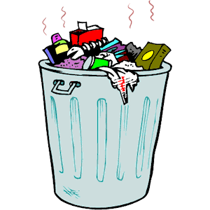 Trash clipart empty Trash can Art Clip ClipartMonk
