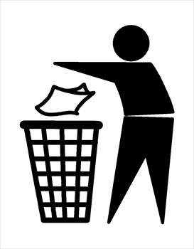 Trash clipart Panda Free Clipart Trash Clipart