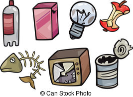 Trash clipart soil pollution 790 Stock Garbage Cartoon