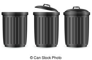 Trash clipart angry Set 27 cans can Trash