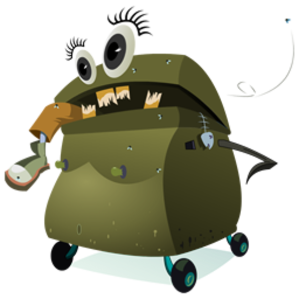 Trash clipart angry Icon  as: Trash Angry