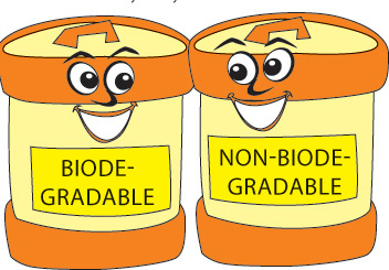 Bio clipart science laboratory Environmental  non Biodegradable Non