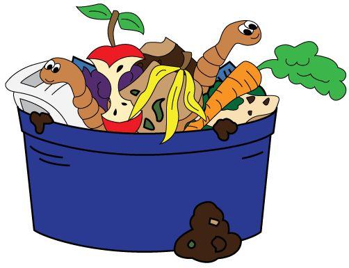 Trash clipart compost pile Organic garden waste has has