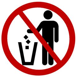 Trash clipart don t Environmental Good Exchango