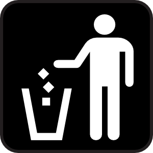 Trash clipart don t Art Clip Art Litter Litter