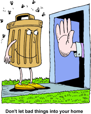 Trash clipart don t Extended From Trash a Trash