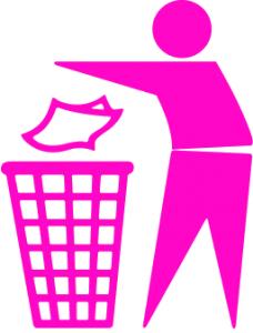 Trash clipart don t Pink 3 Dont Art Download
