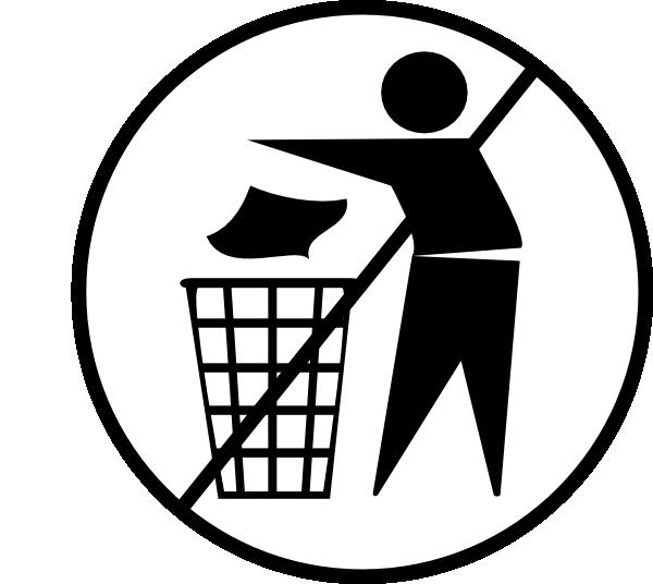 Trash clipart don t Clipart throw Cliparts Cliparts Trash