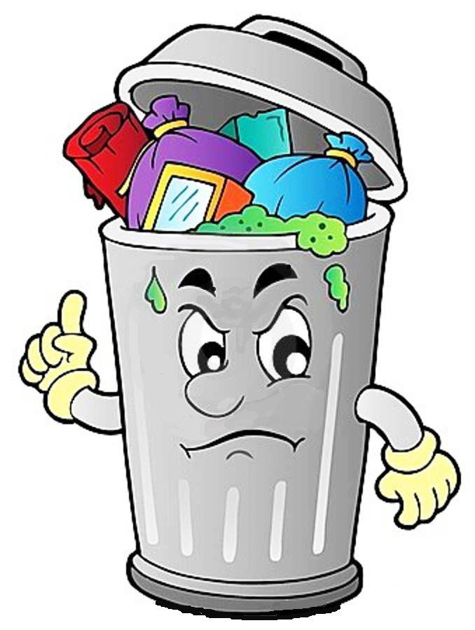 Trash clipart don t Free TRASH! Can LET'S Town