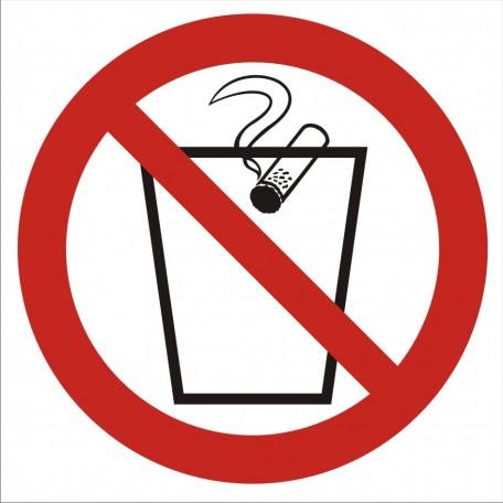 Trash clipart don t Cigarette GB025 Don't the trash