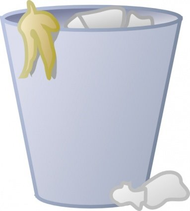 Trash clipart empty Full Clipart Trash Trash Vector