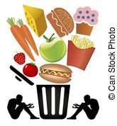 Trash clipart food wastage Waste 305 waste Clipart from