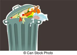 Trash clipart food wastage Images and 764 Illustrations Waste