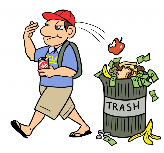 Trash clipart food wastage Dining halls Reducing Jonathan food