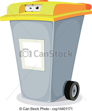 Trash clipart funny Inside blank from trash of