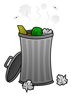 Trash clipart funny Drawing trash cartoon cartoon trash