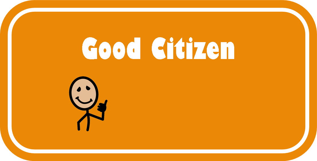 Trash clipart good citizenship Respectful sport a and/or Being