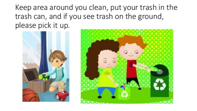 Trash clipart good citizenship Characteristics powerpoint good of 6