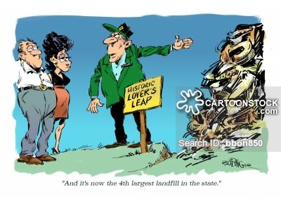Trash clipart landfill site Cartoons Comics CartoonStock from cartoon