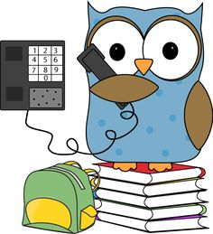 Owl clipart helper Monitor and collection Supply clipart