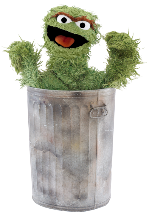 Trash clipart oscar the grouch The Grouch Project Pictures Picture