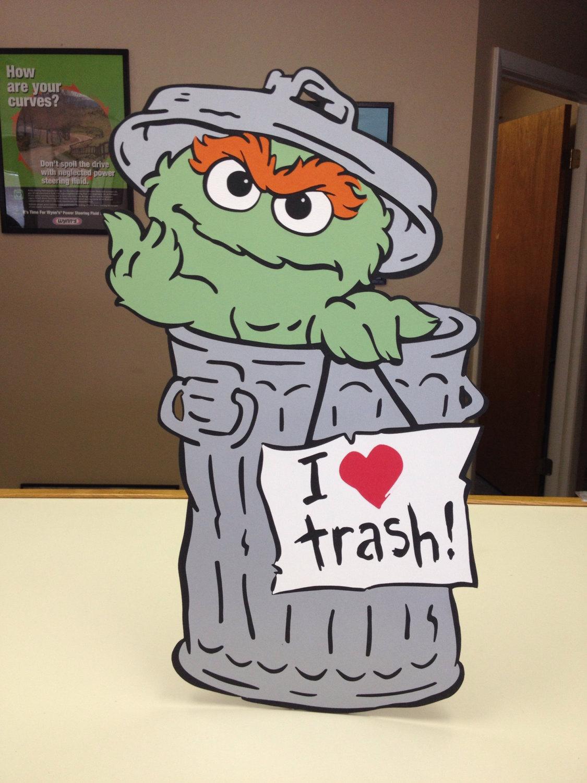 Trash clipart oscar the grouch Decoration the Grouch Street Love