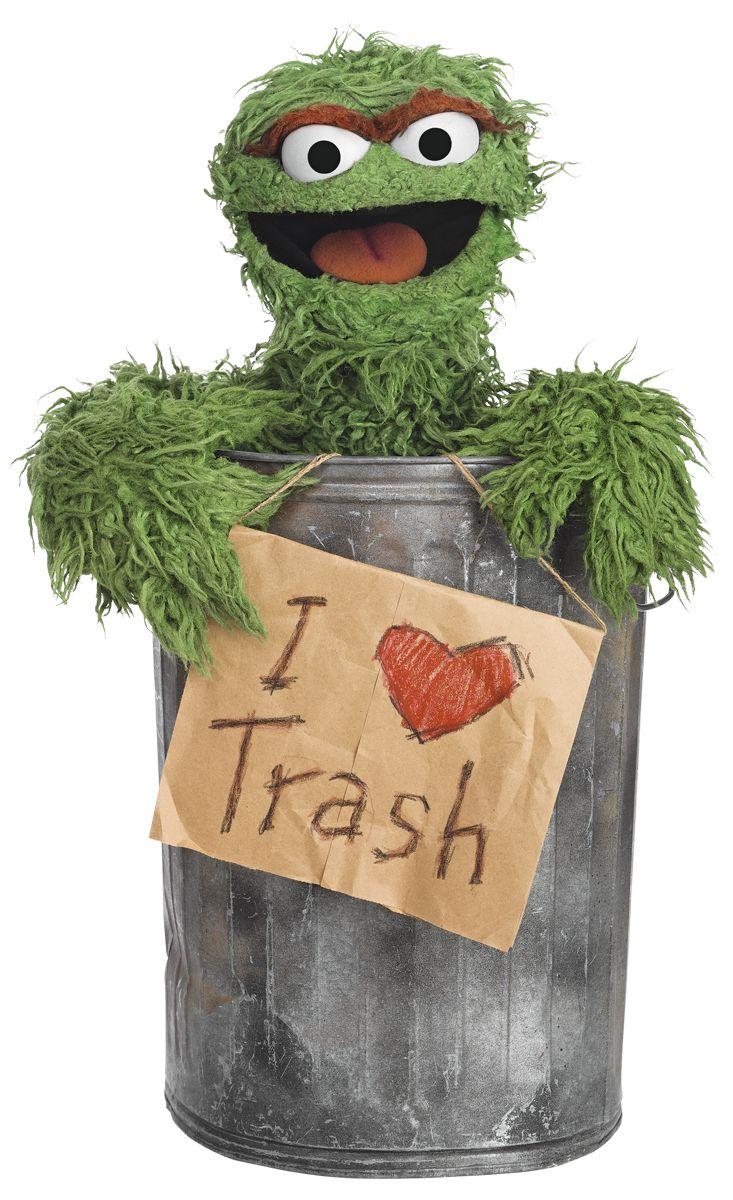 Trash clipart oscar the grouch Trash! Anything I or 25+