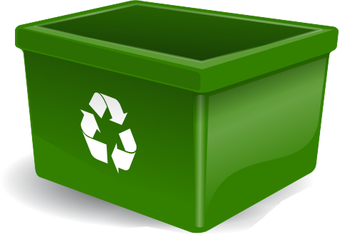 Yellow clipart recycle bin Recycle Art Green Download Recycle