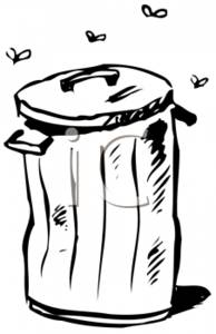 Trash clipart stinky Trash With a Picture Picture