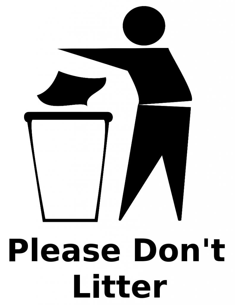 Trash clipart wrapper Do – Plant Be trash_bin_