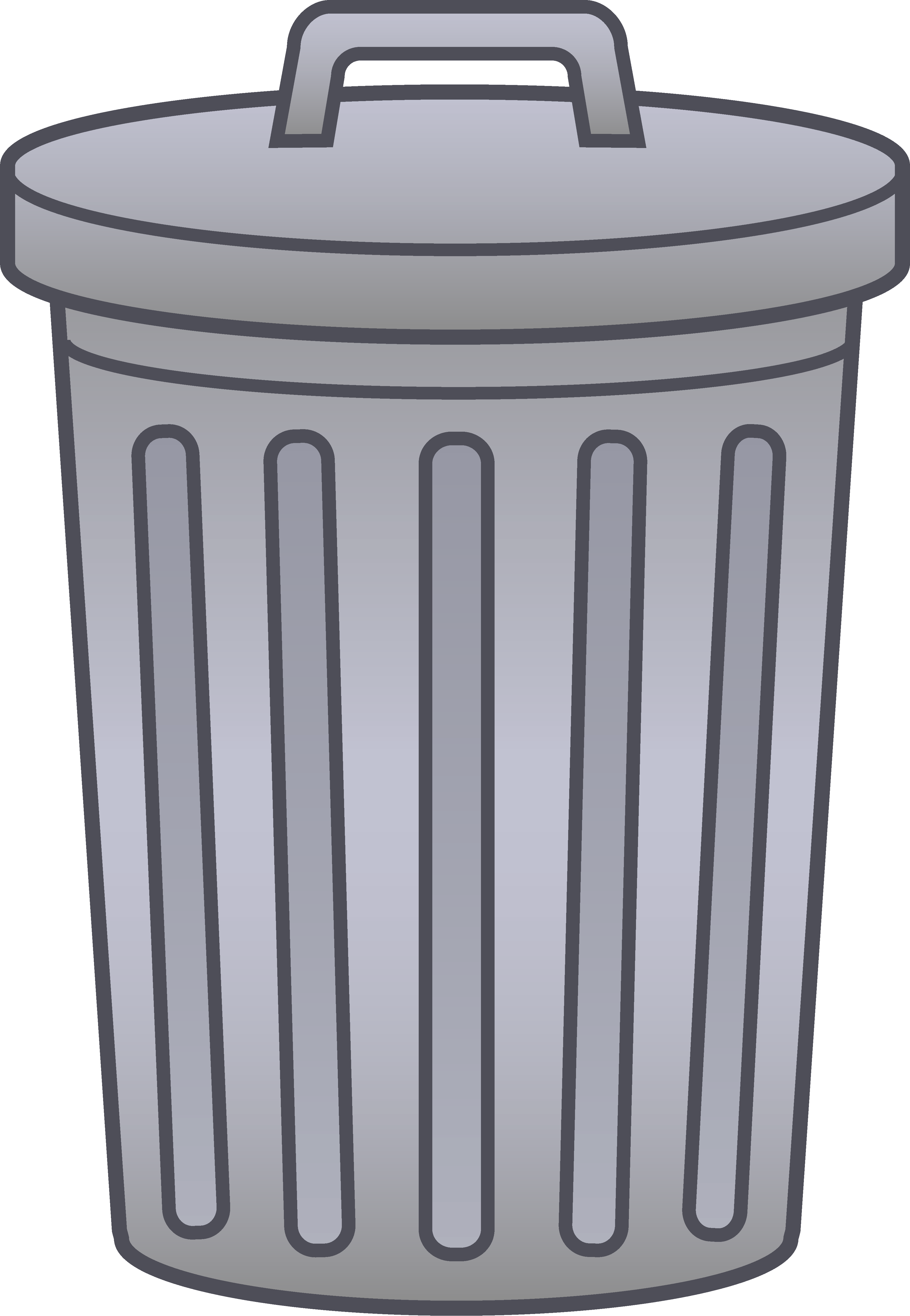 Trash clipart wrapper Garbage All garbage can Jolene