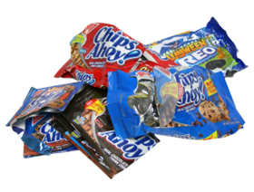 Trash clipart wrapper Garbage Kennedy Walters for Condiment