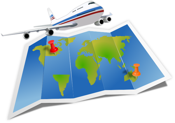 Travel clipart Art Travel Airplane Clipartix clip