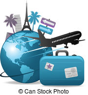 Travel clipart Background royalty Illustrations 765