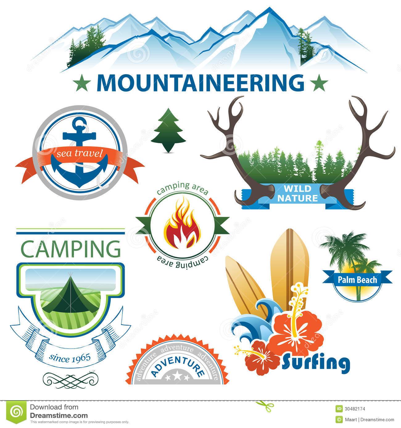 Adventure clipart adventure travel Travel Set Travel World Map