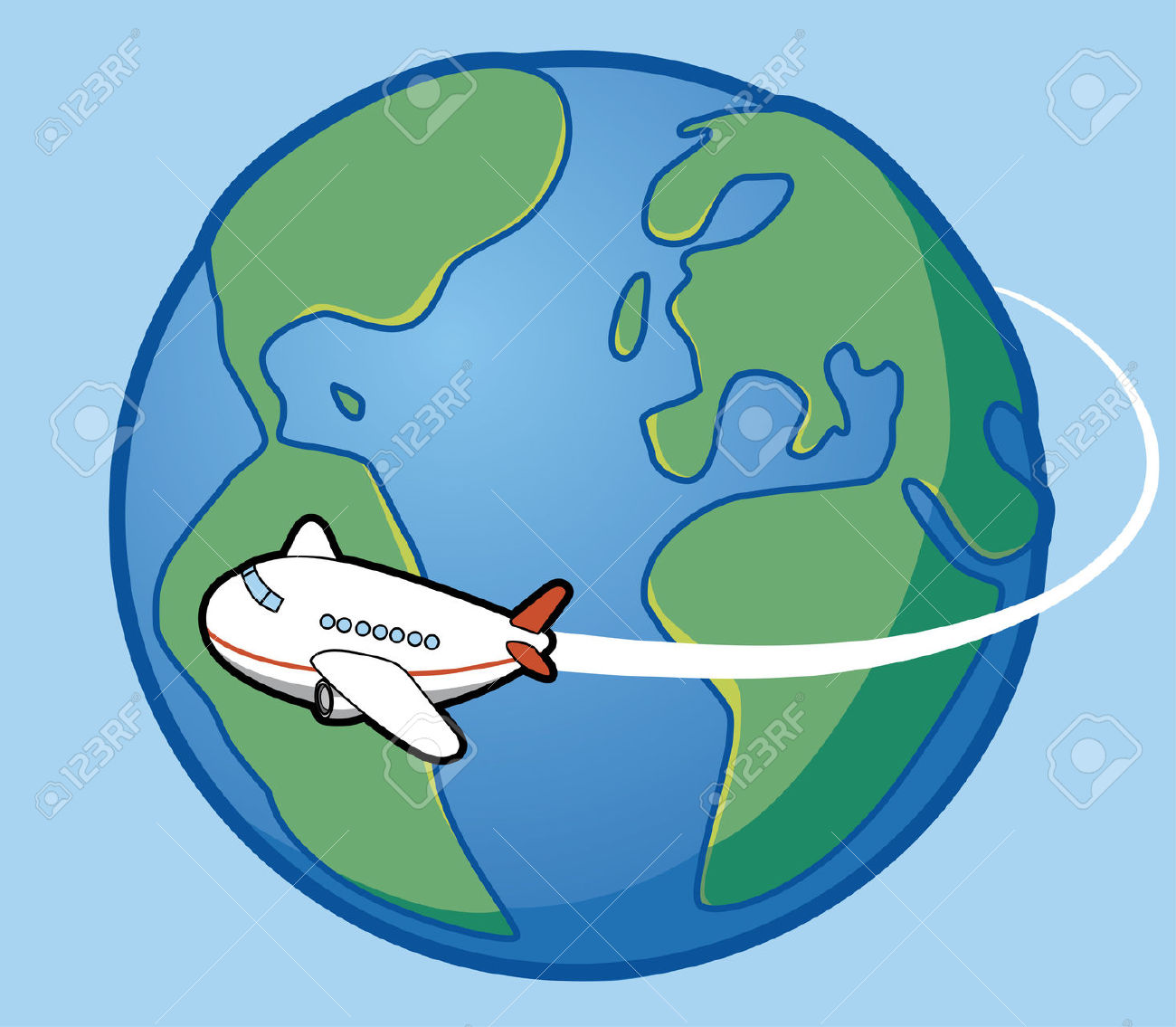Travel clipart animated Free Travel Clipart Art Vector