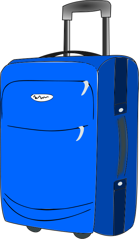 Travel clipart baggage  Voyage suitcase Clipart Collection