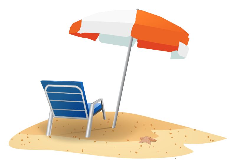 Travel clipart beach Free Art Beach Domain Page