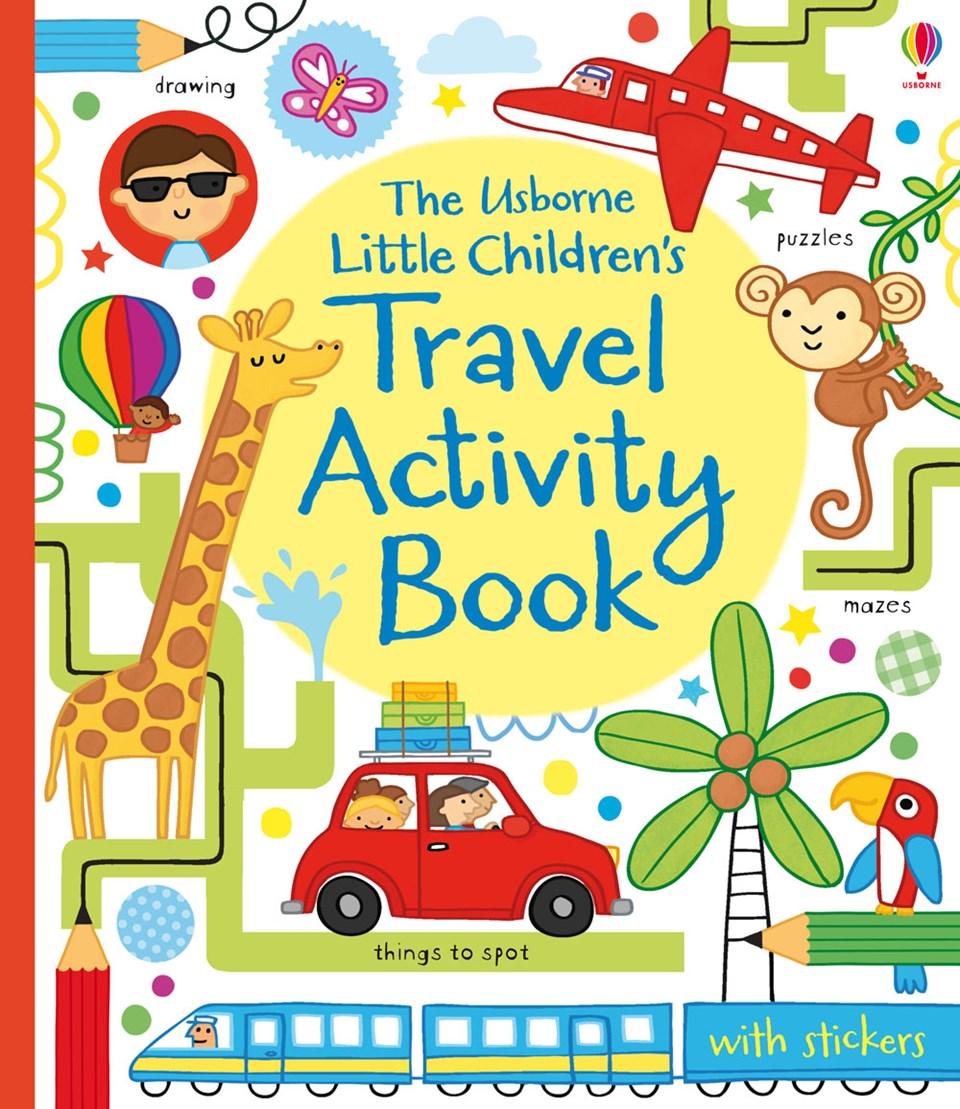 "Travel clipart book Book"" Books activity children's at"