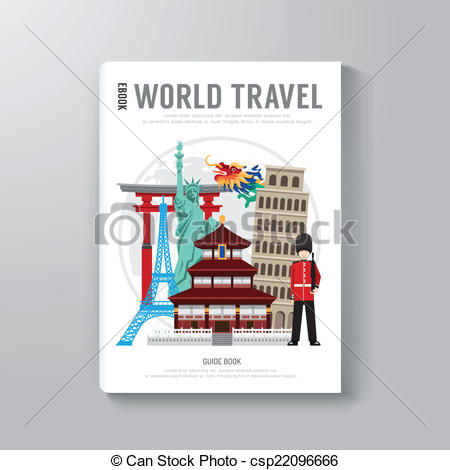 Travel clipart book Be Template Clip Business World