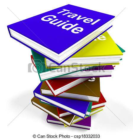 Travel clipart book Travels Travel Guide Photo Stock