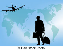 Departure clipart business trip Travel  on a 161