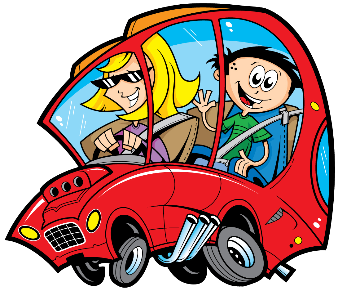 Vacation clipart car ride Free Download Clip Family Travel